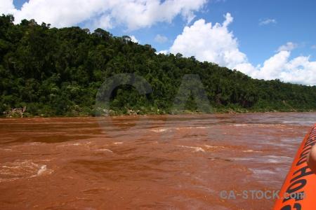 Unesco sky argentina river iguazu.