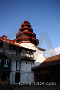 Unesco sky temple hanuman kathmandu.