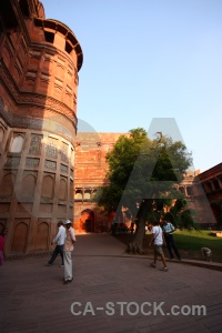 Unesco south asia building agra india.