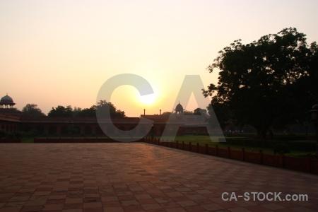 Unesco sunrise palace archway building.