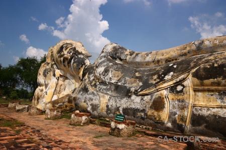 Unesco temple buddhism buddha wat lokayasutha.