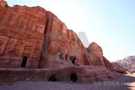 Unesco tomb western asia carving jordan.