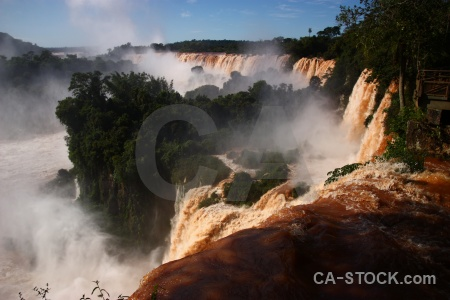 Unesco waterfall south america water river.