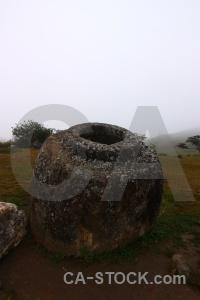 Urn site 1 fungus megalithic jar.