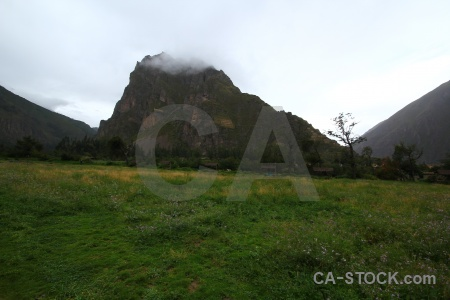 Urubamba valley inca sacred grass ollantaytambo.