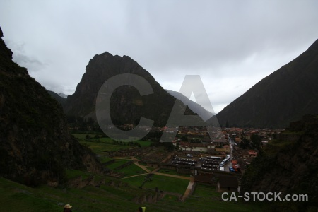 Urubamba valley sky building sacred andes.