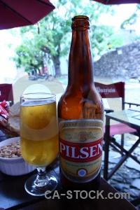 Uruguay beer bottle unesco drink.
