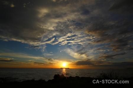 Uruguay sky cloud sun rio del la plata.