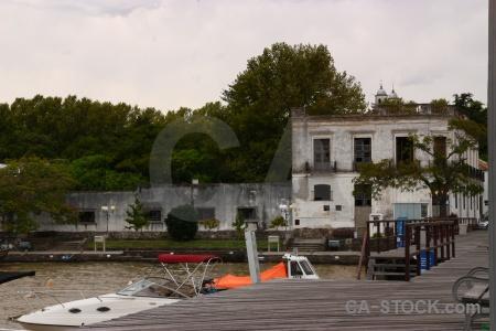 Uruguay vehicle water tree boat.