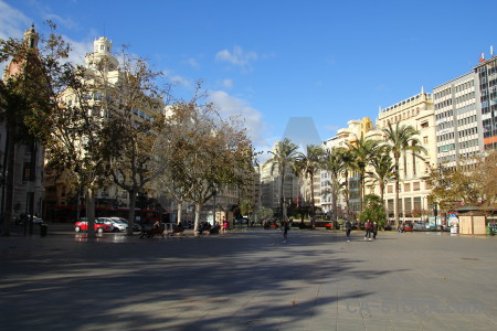 Valencia person spain europe building.