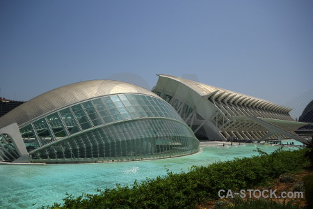 Valencia pool architecture art spain.