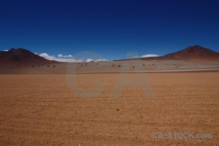 Valle de dali andes landscape desert sky.