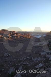 Valle de la luna chile south america landscape atacama desert.