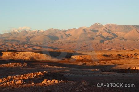 Valle de la luna cordillera sal mountain landscape san pedro atacama.