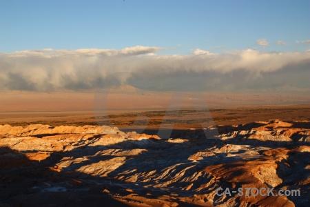Valle de la luna south america valley of the moon cloud sky.