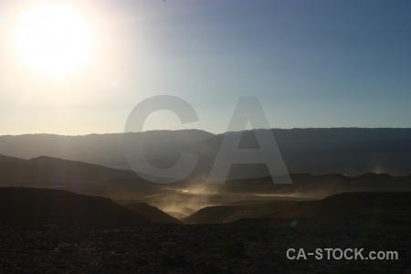 Valley of the moon atacama desert chile cordillera de la sal mountain.