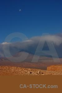 Valley of the moon cordillera de la sal desert sky mountain.
