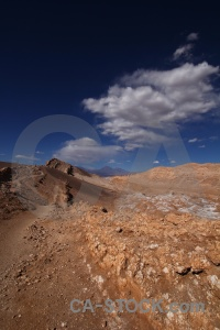 Valley of the moon rock mountain atacama desert san pedro de.