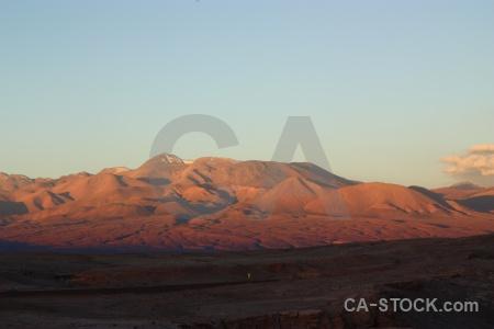 Valley of the moon sky valle de la luna cordillera sal desert.