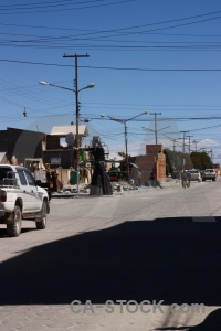 Vehicle altitude south america road bolivia.