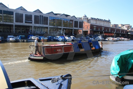 Vehicle boat europe river bristol.