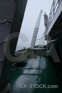 Vehicle day 9 sea ice akademik ioffe fog.