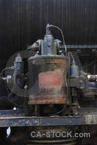 Vehicle object train metal.