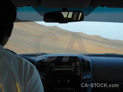 Vehicle sand desert middle east dubai.