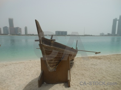 Vehicle sea western asia beach sand.