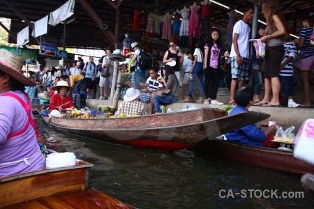 Vehicle thailand ton khem person canal.