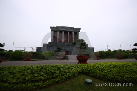 Vietnam hanoi memorial ho chi minh mausoleum pillar.
