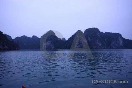 Vietnam southeast asia limestone island unesco.