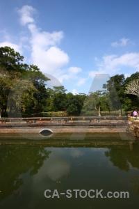 Vietnam southeast asia water tomb lang minh mang.