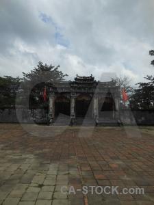 Vietnam unesco lang minh mang hue sky.