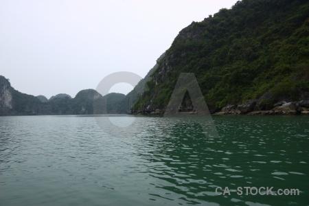 Vietnam unesco southeast asia limestone mountain.