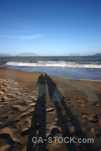 Vietnam wave asia shadow sand.