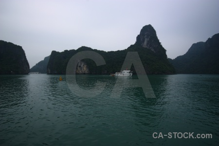 Vinh ha long asia boat southeast island.