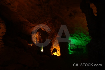 Vinh ha long cave amazing vietnam unesco.
