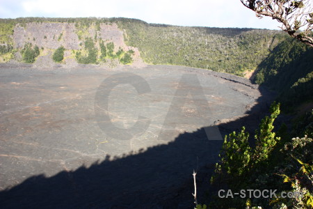 Volcanic crater.