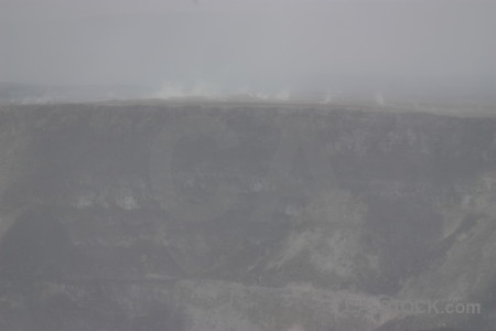 Volcanic crater gray.