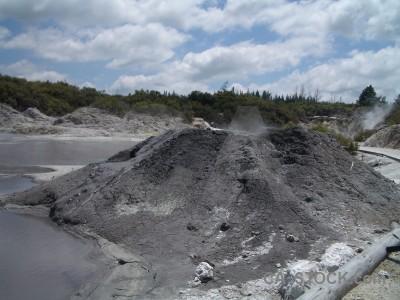 Volcanic gray.