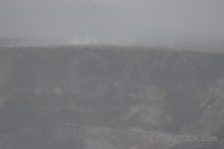Volcanic gray crater.