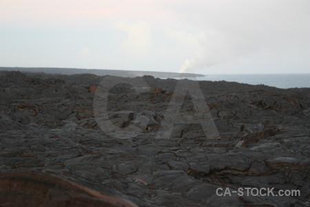 Volcanic lava white.