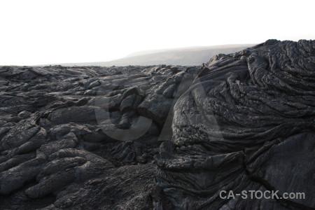 Volcanic white lava.