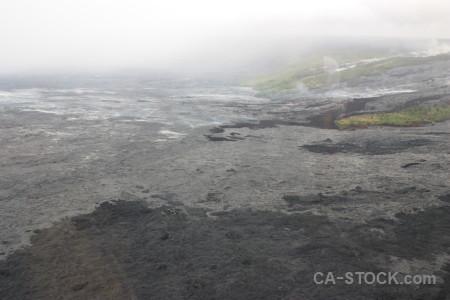 Volcanic white lava gray.