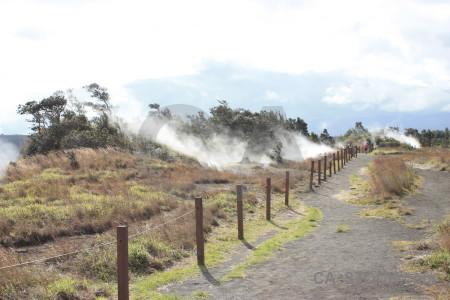 Volcanic white path.