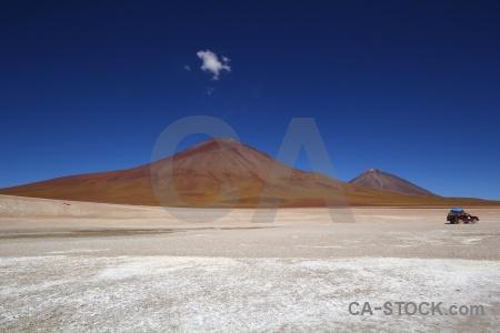 Volcano altitude landscape mountain andes.