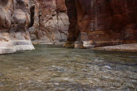 Wadi asia western canyon river.