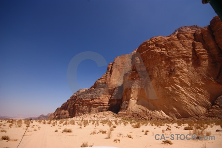 Wadi rum asia middle east bedouin rock.