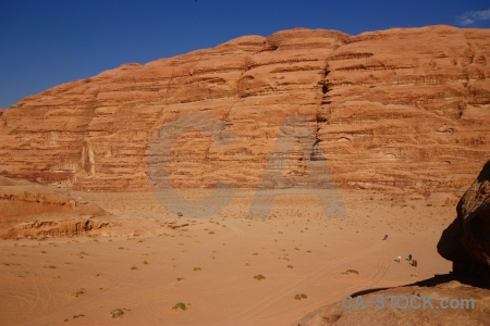 Wadi rum western asia bedouin sky sand.